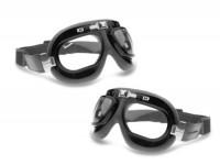 Vintage riding goggles-PIAGGIO Vespa- black
