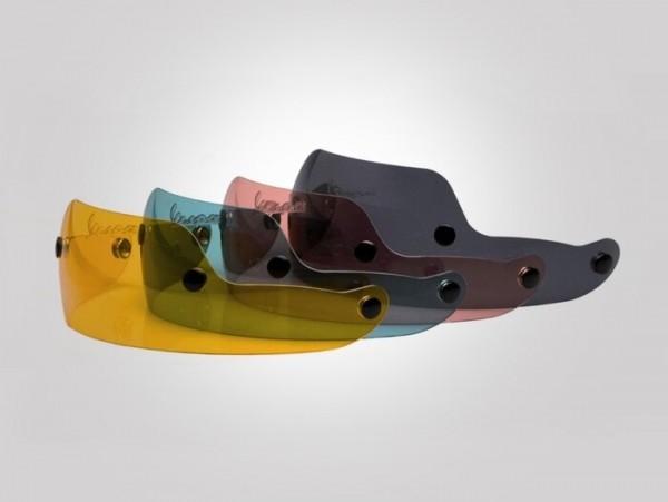 Visor for helmet-VESPA Soft Touch- small - yellow