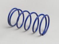 Gegendruckfeder -POLINI Evolution- Piaggio 50 ccm, Minarelli 50 ccm - Blau