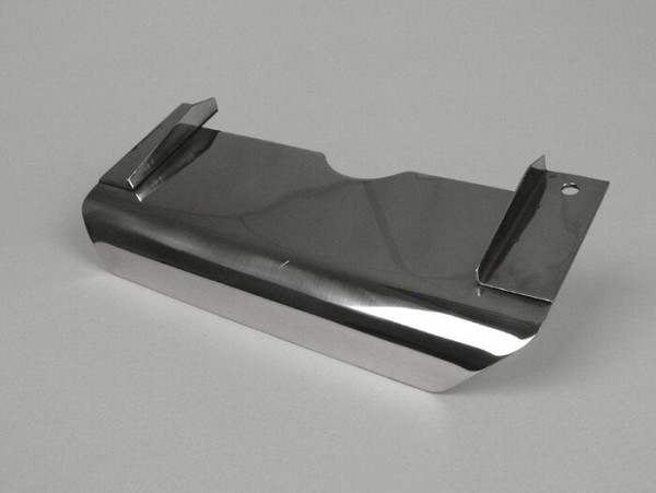 Splash plate center stand -LAMBRETTA- LI (Serie 3), LIS, SX, TV (Serie 3), DL, GP - stainless steel