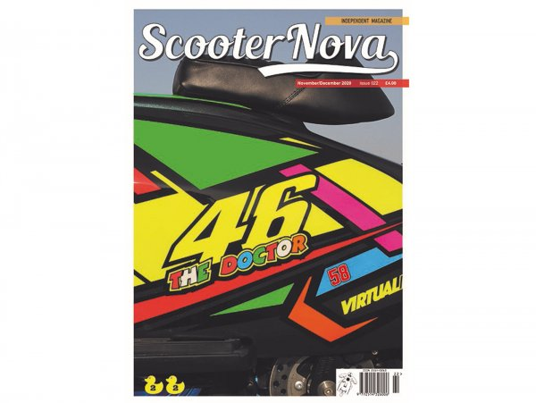 Scooter Nova Magazine - (#022) -  November/December 2020