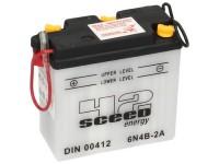 Batterie -Standard SCEED 42 Energy- 6N4B-2A - 6V, 4Ah - 103x48x96mm (inkl. Säurepack)