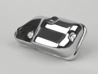 Carburator box cover -MADE IN INDIA- Vespa PX (since 1984), T5 125cc, Cosa - Chrome