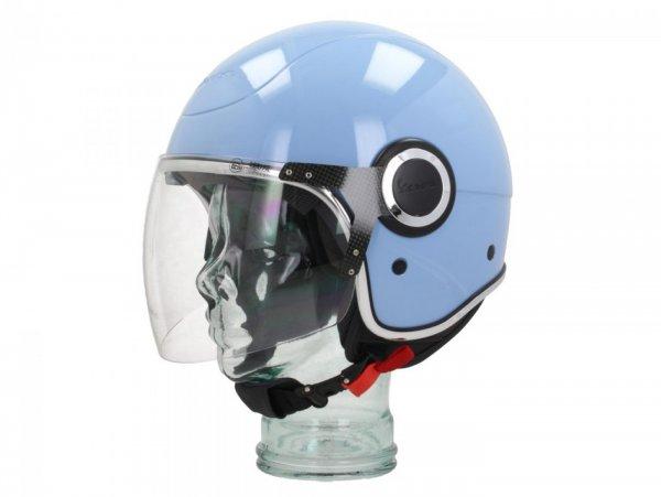 Helmet -VESPA VJ- open face helmet, Azzurro Incanto (279/A) - XL (61-62cm)