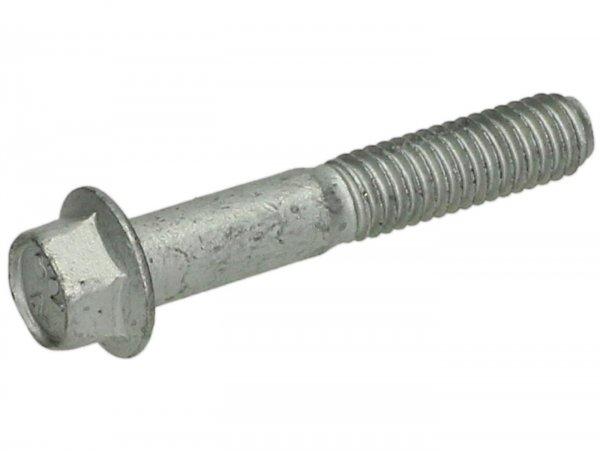 Schraube mit Flansch -M6 x 35mm- -PIAGGIO- (verwendet für Variodeckel Piaggio, Gegengewicht Dekompressionseinheit Piaggio Leader AC/LC, Quasar/HPE)