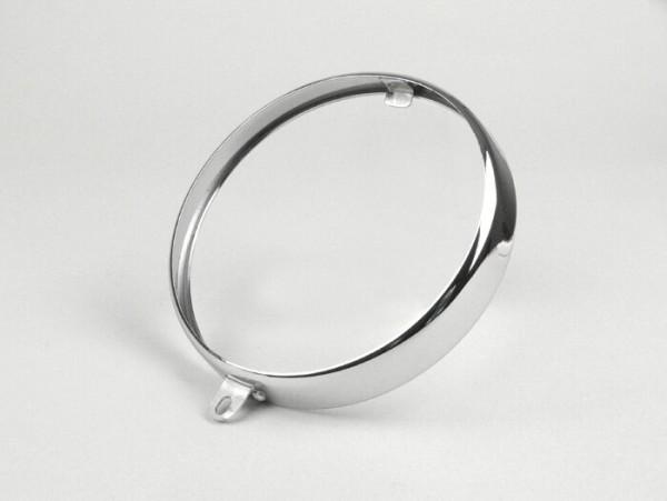Scheinwerferzierring -SIEM Ø=105/115mm (Glas/außen)- Vespa Wideframe VM1, VN1