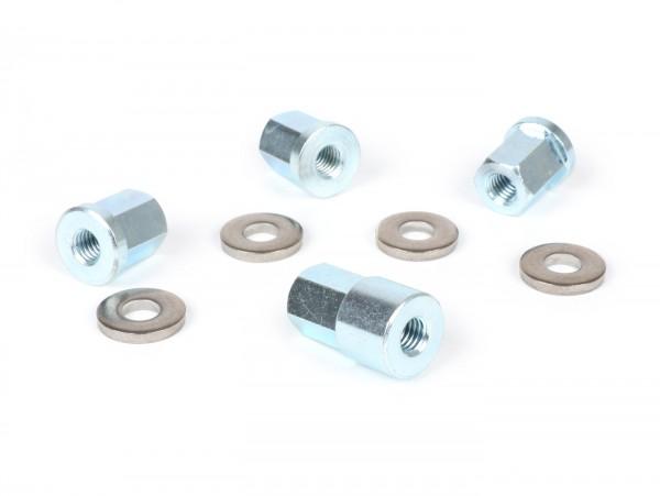 Zylinderkopfmuttern-Set -BGM PRO- Lambretta LI, LIS, SX, TV (Serie 2-3), DL, GP