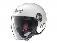 Helmet -NOLAN, N21 Visor Classic- open face helmet, metallic white - M (57-58cm)