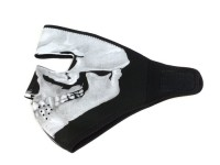 Sotocasco -BANDIT Facemask- Neopren, cráneo/negro