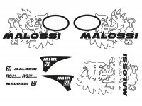 Sticker set -MALOSSI-