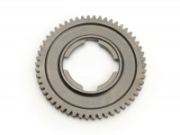 2nd gear cog -OEM QUALITY, 4-speed gearbox-Vespa V50, V90, 50N, PV125, ET3, SS50, SS90, PK S, PK XL1, PK XL2, ETS - 54 teeth