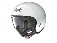 Helmet -NOLAN, N21 Classic- jet helmet, metal white - XXS (54cm)