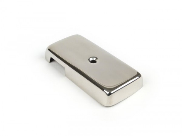 Indicator switch cover -VESPA- PX80, PX125, PX150, PX200 (1978-1983) - stainless steel