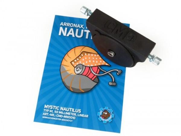 Externe Kurzhubgasrolle-CMD Mystic Nautilus- (Typ N1), Quick-Action, Seilzugdurchmesser 50mm  - universell verwendbar