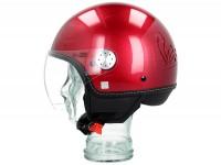 Helmet -VESPA Visor 3.0- red vignola (880A) - M (57-58cm)