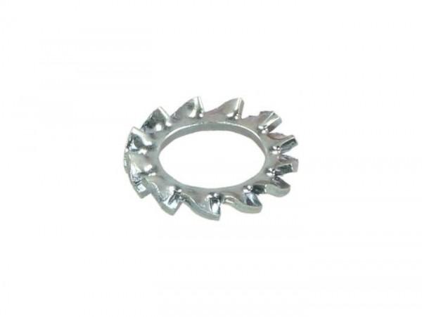 Serrated lock washer -DIN 6798- M6