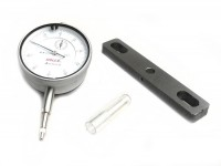 Dial gauge -BGM ORIGINAL- Universal 0.01-10mm- with bracket for cylinder studs