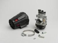 Kit Carburatore -MALOSSI MHR 19mm Dellorto PHBG BS- Minarelli 50 ccm, Piaggio 50 ccm 2 tempi - AM=23mm- APRILIA SR50 (Minarelli), YAMAHA AEROX 50, BWS 50, JOG50, JOG50RR, NEOS, SLIDER, SPY, VINO50, WHY50, ZEST50, ZUMA50, CPI ARAGON 50, Formula, GTR,