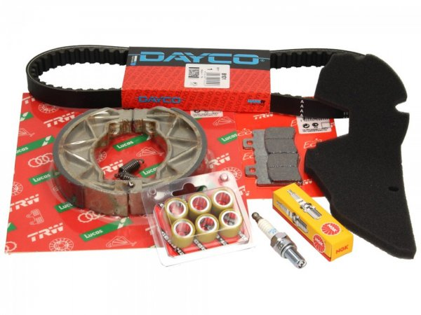 Sevice kit -SCEED 42- Aprilia Scarabeo 50cc 4-stroke (ZD4TG0, ZD4TGA, ZD4TGB)