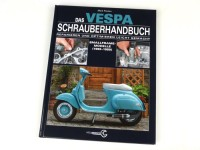 Book -Das VESPA Schrauberhandbuch - Smallframe Modelle 1965-1989- by Mark Paxton (128 pages, German)