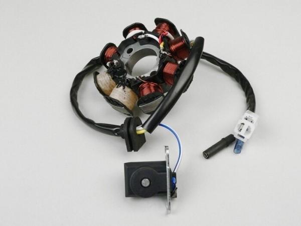 Encendido -CALIDAD OEM soporte bobinas completo- GY6 (de 4 tiempos) 50cm³ (139QMA/B) - tipo 1
