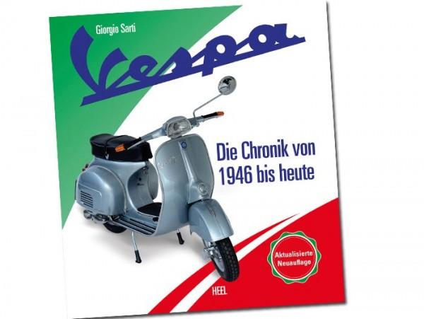 Libro -Vespa - Die offizielle Chronik von 1946 bis heute (456 páginas, 900 ilustraciones aprox., alemán)