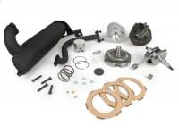 Tuningkit 55mph -POLINI 102 cc- Vespa V50, 50N - Sport setup