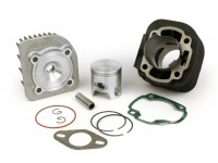 Zylinder -STAGE 6 70 ccm Streetrace- CPI Euro 2 - 12mm Kolbenbolzen -  (0° geneigter Auspuffflansch)