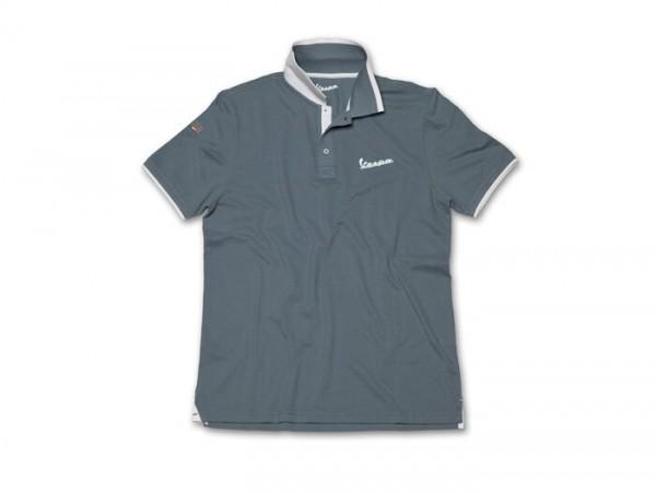 Polo-Shirt Herren -VESPA- grau - M