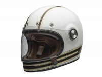Casco -BELL Bullitt Carbon RSD Mojo White/Gold- casco integral, blanco/dorado - XXL (62-63 cm)