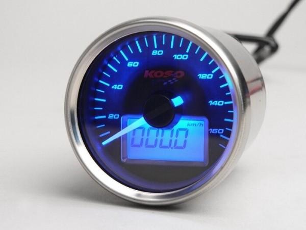 Speedo -KOSO GP analog- universal (Ø=55mm)