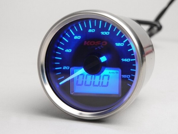 Tacho -KOSO GP analog- universal (Ø=55mm)