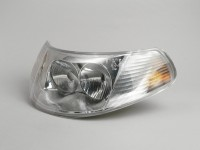 Headlight Piaggio Hexagon RST (2. generation)