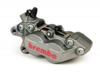 Bremszange vorne, links -BREMBO, 4-Kolben, Ø=30/34mm, (P4 30/34C)- Titan Style