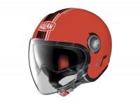 Helmet -NOLAN, N21 Visor Joie de Vivre- open face helmet, corsa red - XL (61-62cm)