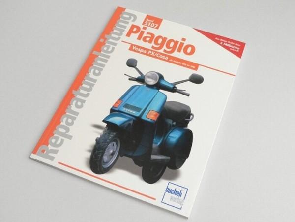 Libro -Reparaturanleitung- Vespa Modelle 1959-91 ab 125 ccm Largeframe
