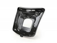 Rücklichtrahmen zur Umrüstung -MOTO NOSTRA für Montage alter Rücklichttyp bis Bj.2014 auf Fahrzeugen ab Bj.2014- Vespa GTS 125-300, GTS 125-300 Super (2014-, Facelift) - carbon style