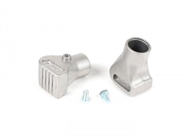 Stand feeds -VESPA Ø= 22mm- Vespa PX, Cosa, T5 125cc, PK S, PK XL - alloy matt