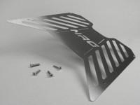 Riffelblech Edelstahl geschliffen -LENNES- Piaggio NRG, NRG MC2, NRG MC3, NRG Extreme