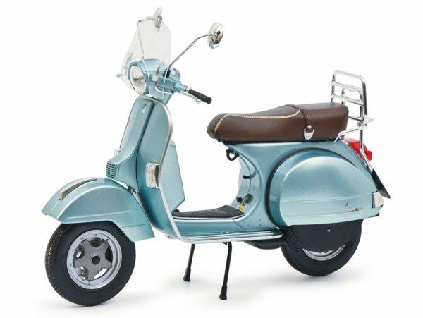 Modell -SCHUCO 1:10- Vespa P 150 X - blau