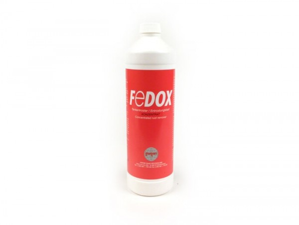 Rust remover for fuel tank -FERTAN FeDOX- concentrate - 1000ml
