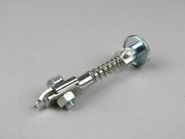 Tensor cable de freno trasero (tipo tuerca moleteada) -CASA LAMBRETTA- Lambretta LI, LIS, SX, TV, DL, GP - galvanizado