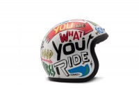 Helmet -DMD Jet Vintage- open face helmet, vintage - Words - M (57-58cm)