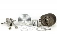 Kit de tuning -PINASCO 190cc cylindre 2 transferts fonte Ø=63mm, vilebrequin course=60mm- Vespa Sprint150 (VLB1T), GT125 (VNL2T), GTR125 (VNL2T), Super, GL150 (VLA1T), VNA, VBA, VNB, VBB