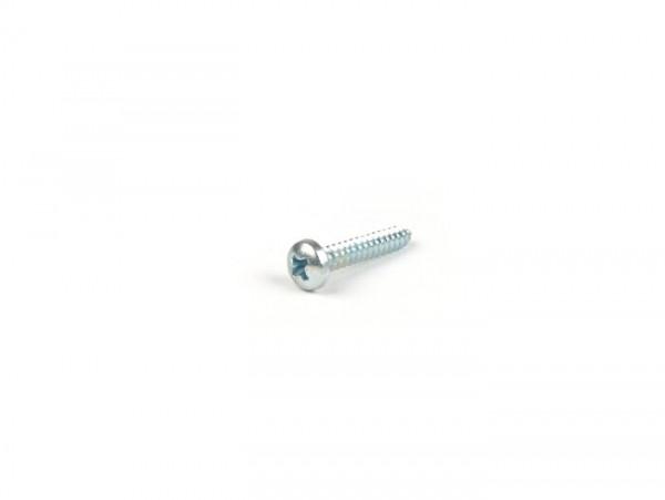 Vite autofilettante -DIN 7981 H- 4.2x25mm- usata per fissaggio gemma fanale posteriore Vespa PX
