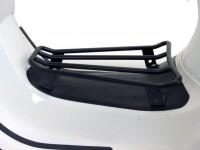 Gepäckträger Durchstieg -MOTO NOSTRA- Vespa GTS 125-300, GTV, GTL, GT - schwarz matt