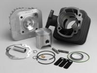 Zylinder -POLINI 70 ccm Sport- Peugeot AC (vertikal) - SPEEDFIGHT1 50 cc AC, SPEEDFIGHT2 50 cc AC, TKR50, TREKKER50, VIVACITY50, ELYSEO50, SQUAB50, SV50, ZENITH50, BUXY50, ELYSTAR50, LOOXOR50, SPEEDAKE