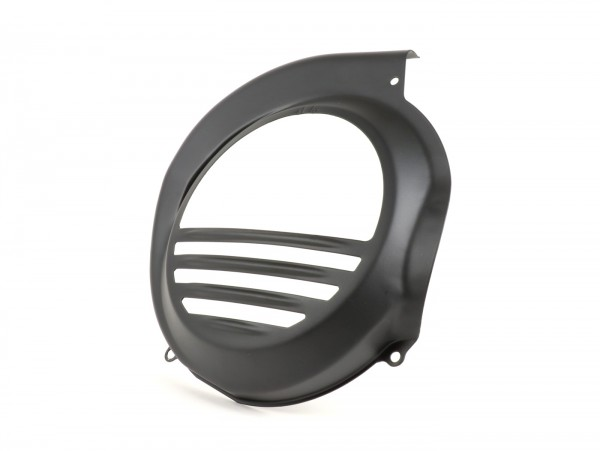 Flywheel cover -OEM QUALITY- Vespa PX80, PX125, PX150, PX200 - models with electric starter -black