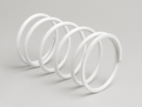 Gegendruckfeder -POLINI Evolution- Piaggio 50 ccm - Weiss
