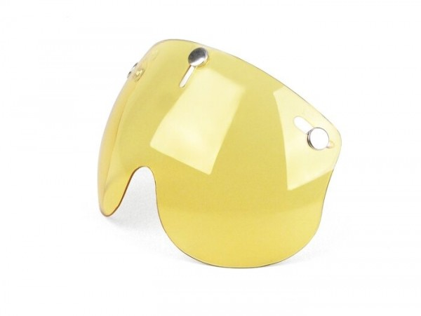 Visor for helmet -BANDIT Jet- short - yellow